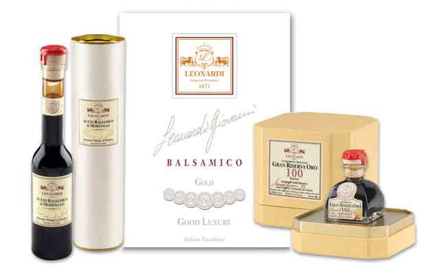 Catalogo Acetaia Leonardi - Linea GOOD LUXURY - GOLD - DIAMOND