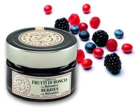 G612 COMPOTE DE FRUITS ROUGES AU BALSAMIQUE 130g