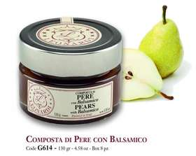 G614 PEAR COMPOTE WITH BALSAMIC 130g