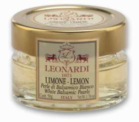 G632/G633  White Balsamic PEARLS - LEMON 50g/370g