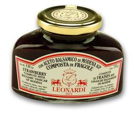 L205 STRAWBERRY Compote with Balsamic Vinegar of Modena 250g