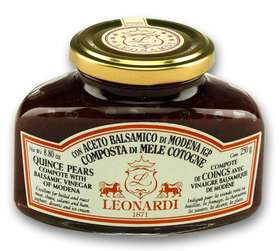 L208 Quince Pears compote with Balsamic Vinegar of Modena 250g