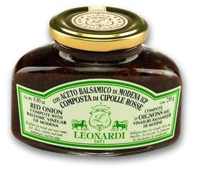 L209 Red Onion compote with Balsamic Vinegar of Modena 240g