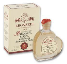 "L2252 BALSAMIC WHITE CONDIMENT - Fine Heart  ""Serie 5"" 50ml"