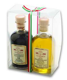 "L3602 Set Condiments ""Farmacia"" Balsamic & Oil 2x100ml"